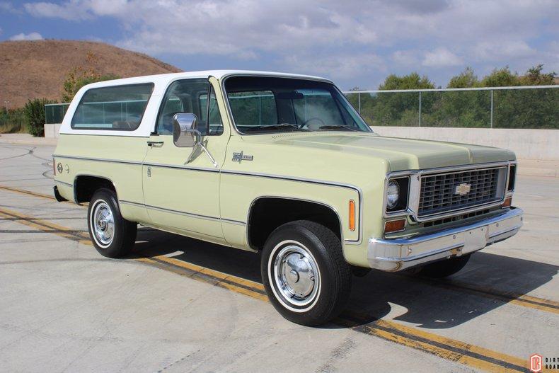 1973 Chevrolet Blazer For Sale