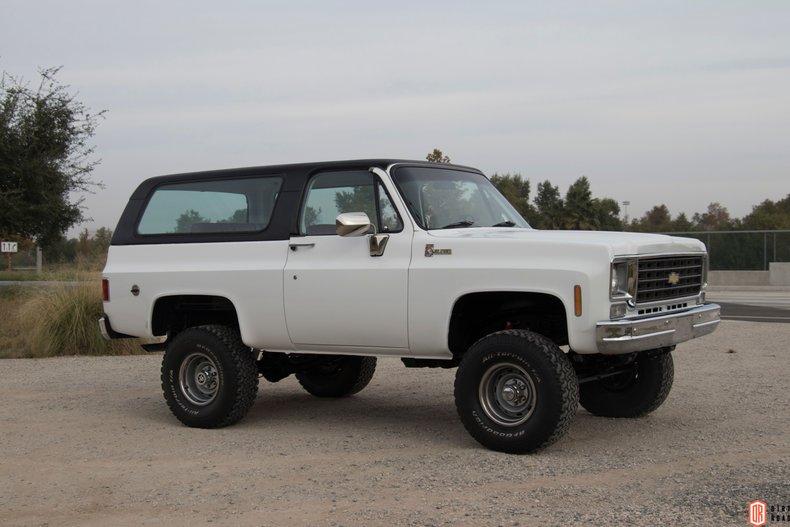 1975 Chevrolet Blazer For Sale