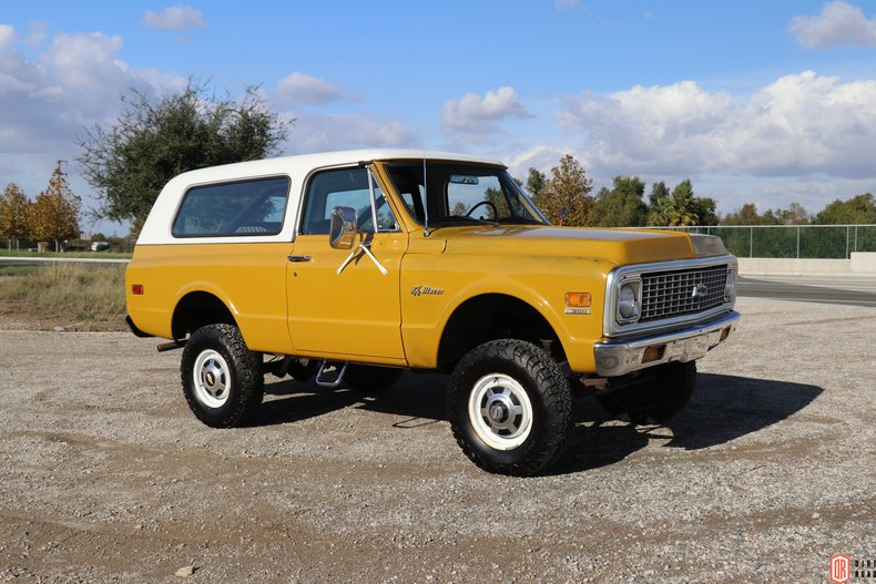 1972 Chevrolet Blazer For Sale