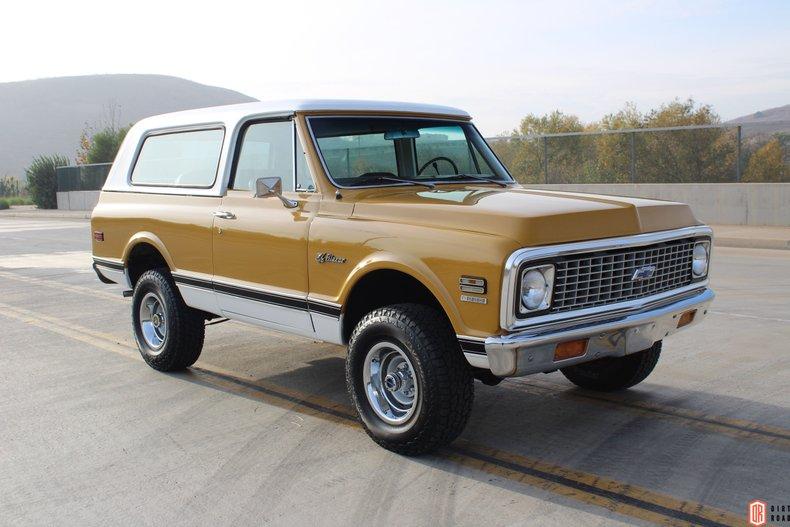 1971 Chevrolet Blazer For Sale