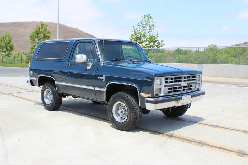 1986 Chevrolet Blazer For Sale
