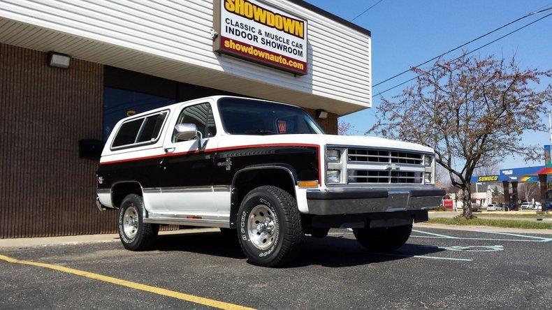 1987 Chevrolet K5 Blazer