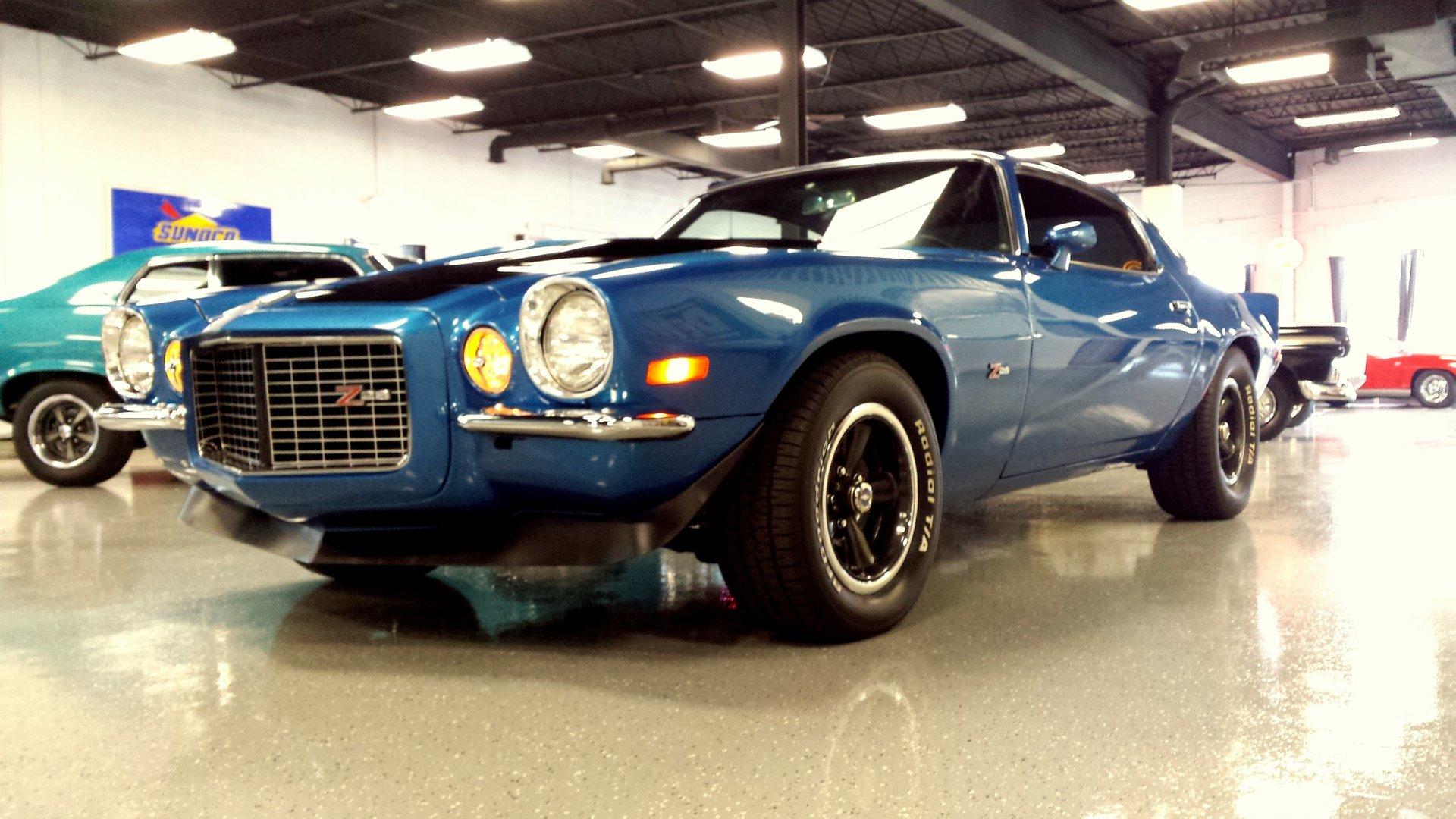 1971 chevrolet camaro rs z 28