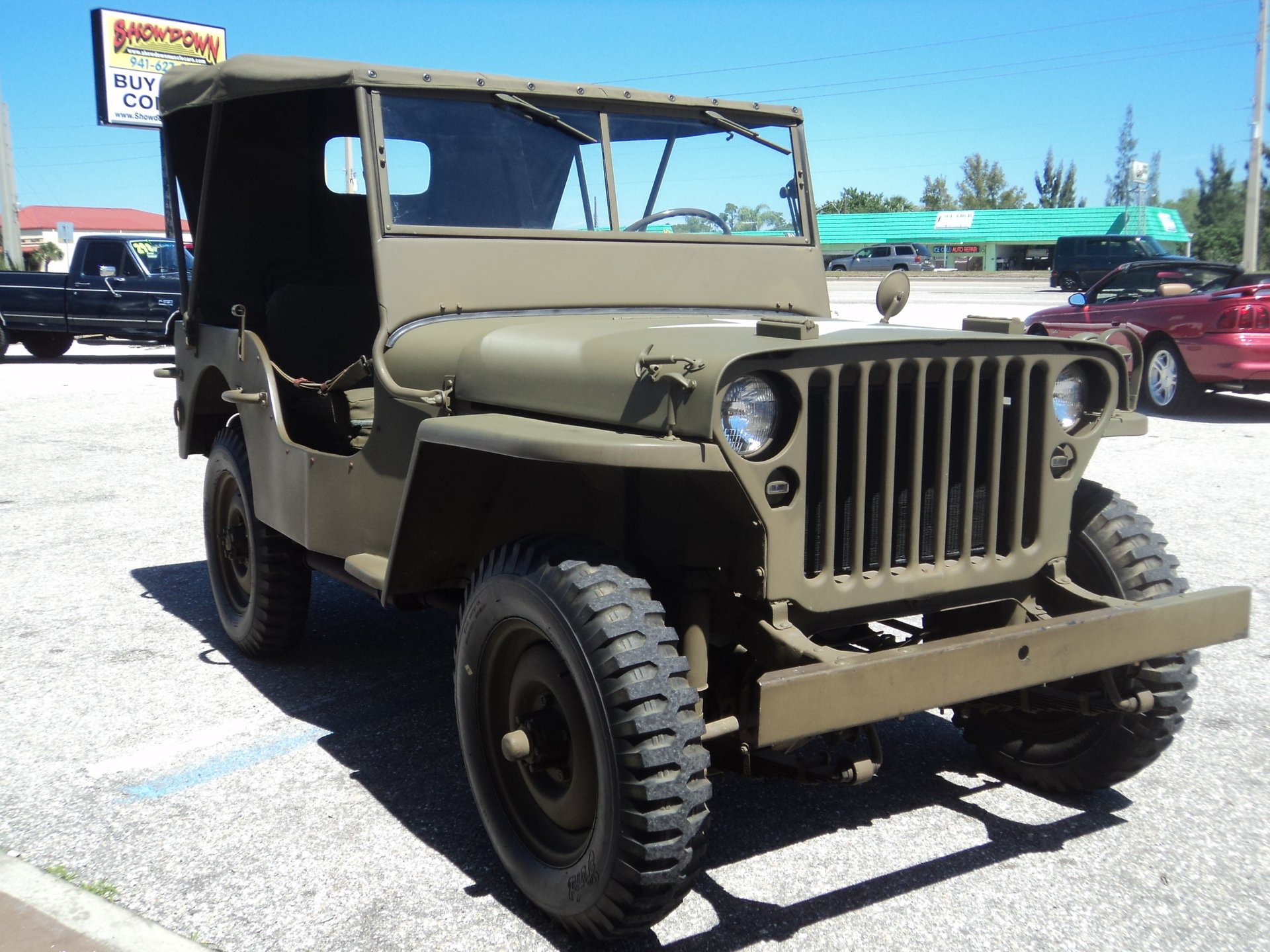 1940 ford military jeep