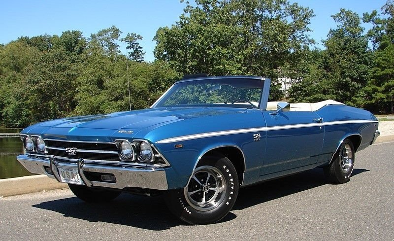 1969 chevrolet chevelle convertible ss396