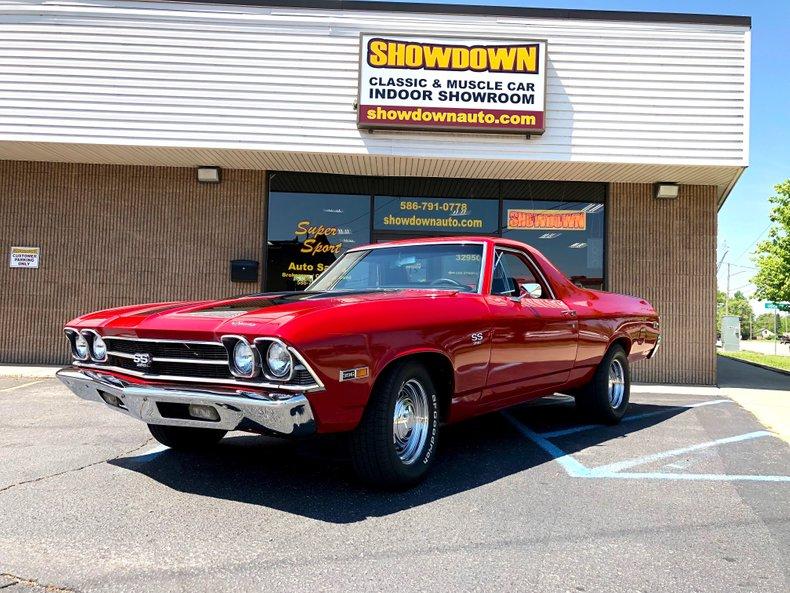 1969 Chevrolet El Camino For Sale