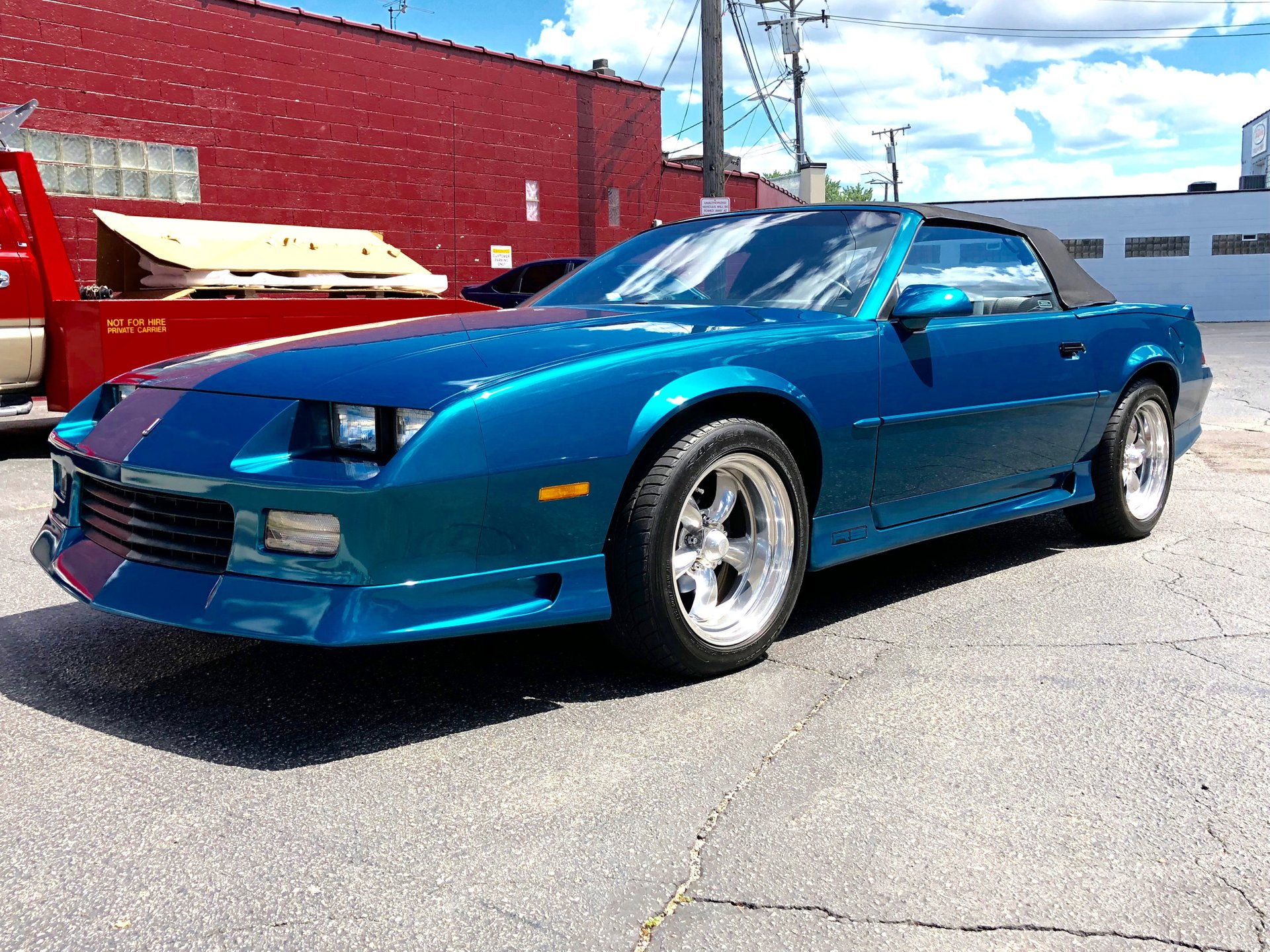 1992 chevrolet camaro rs