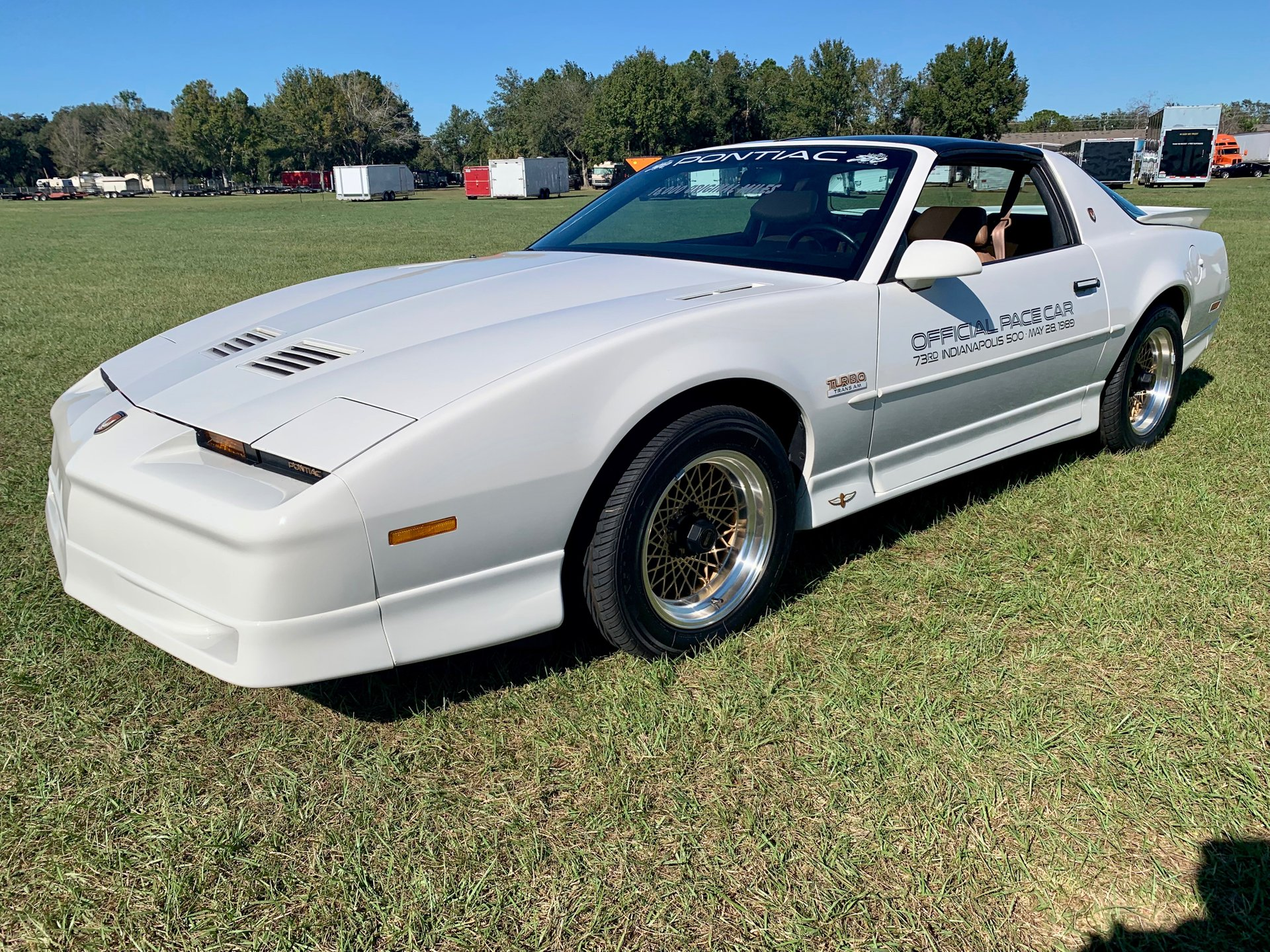 1989 pontiac trans am indianapolis 500 pace car