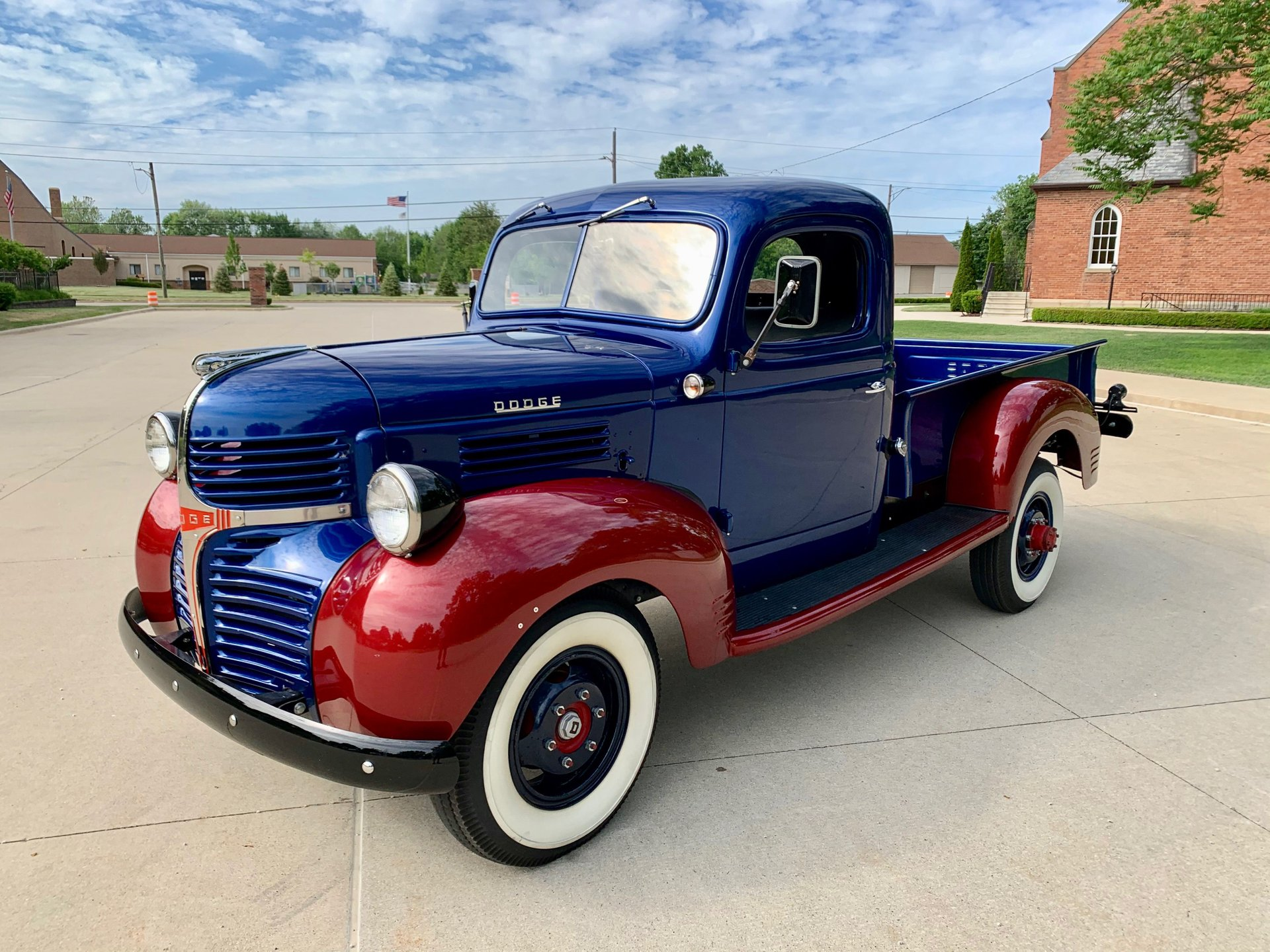 1946 dodge 3 4 ton pickup