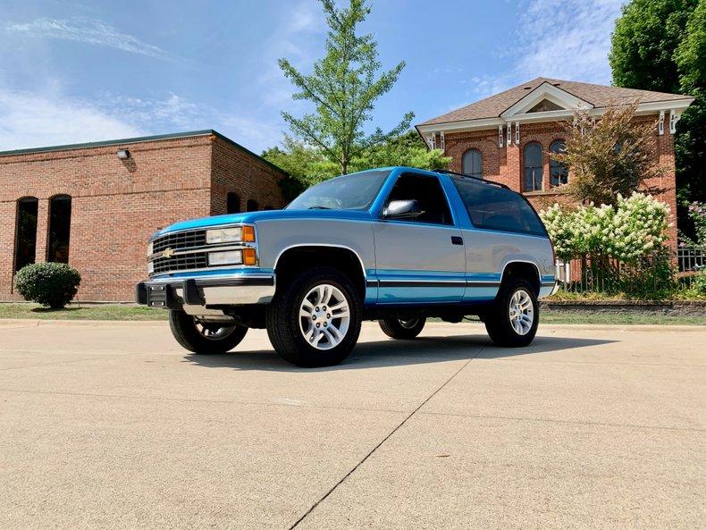 1992 Chevrolet K5 Blazer