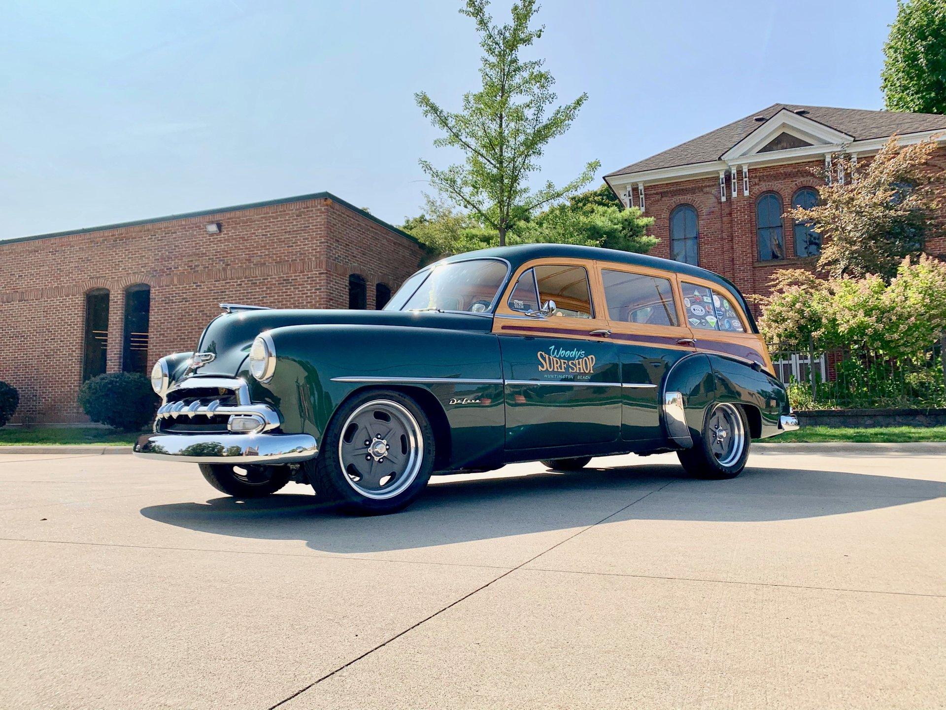 1952 chevrolet tin woody