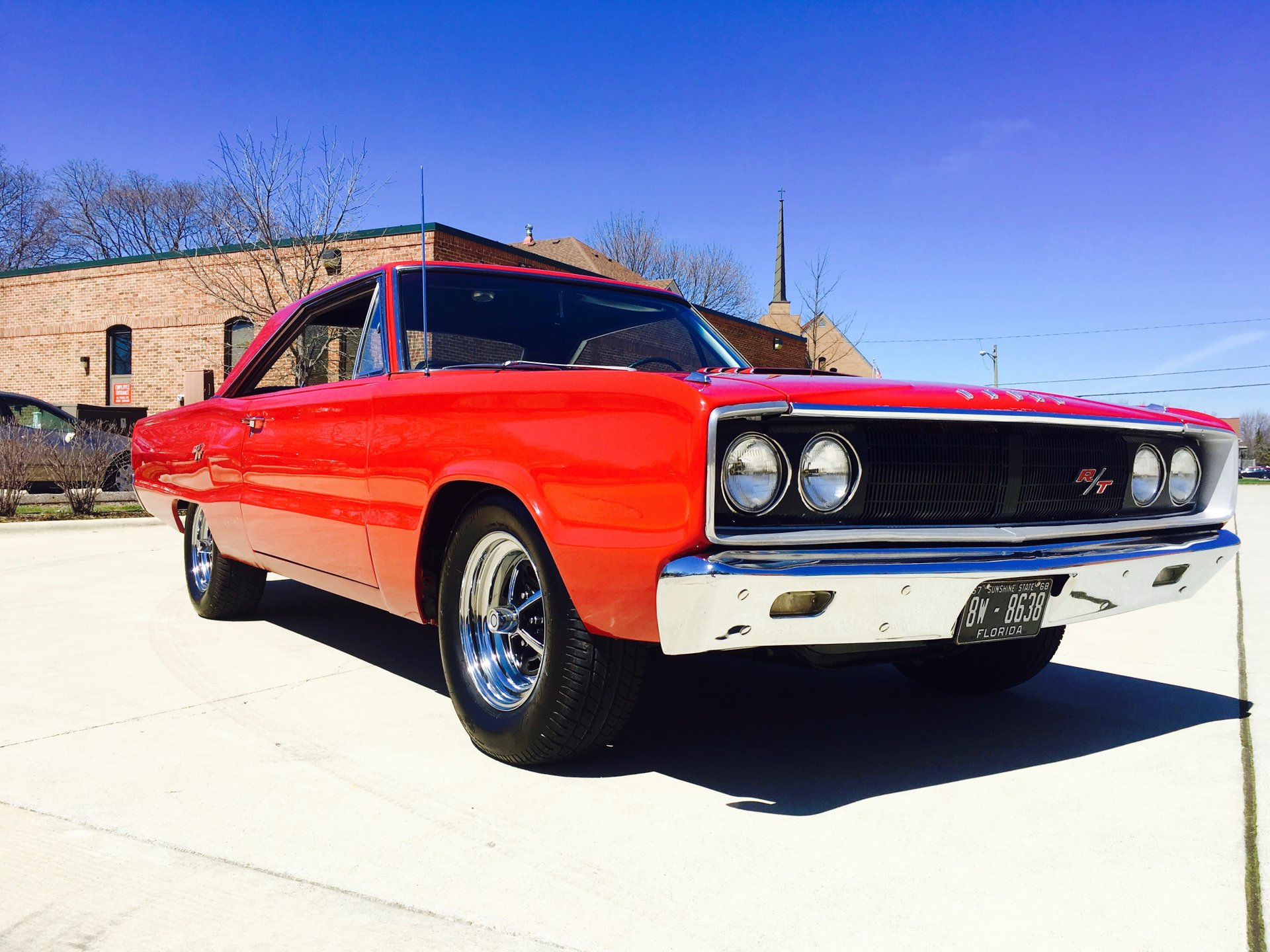 1967 dodge coronet r t tribute