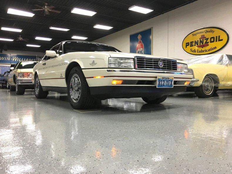 1992 Cadillac Allante pace car