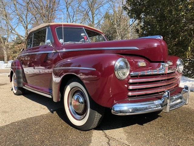 1946 ford super deluxe base