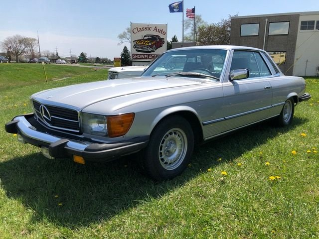 1977 mercedes benz 450slc base