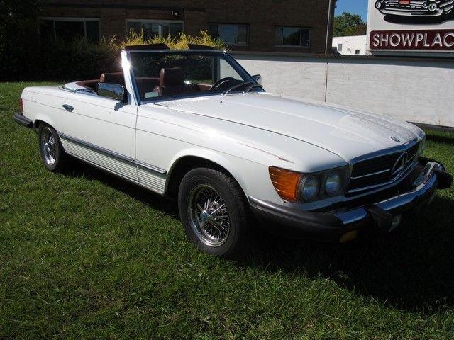 1980 mercedes benz 450sl base