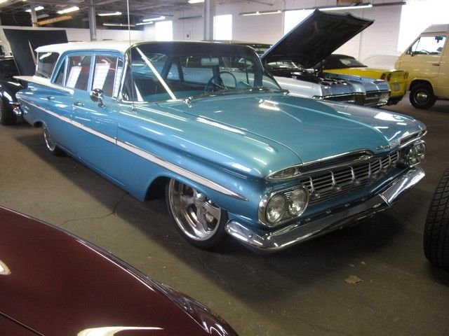 1959 chevrolet brookwood wagon base