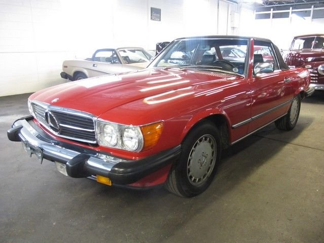 1987 mercedes benz 560sl base