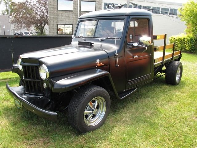 1953 willys truck custom