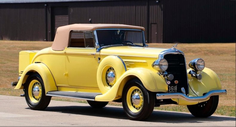 1934 Dodge DR Convertible Coupe