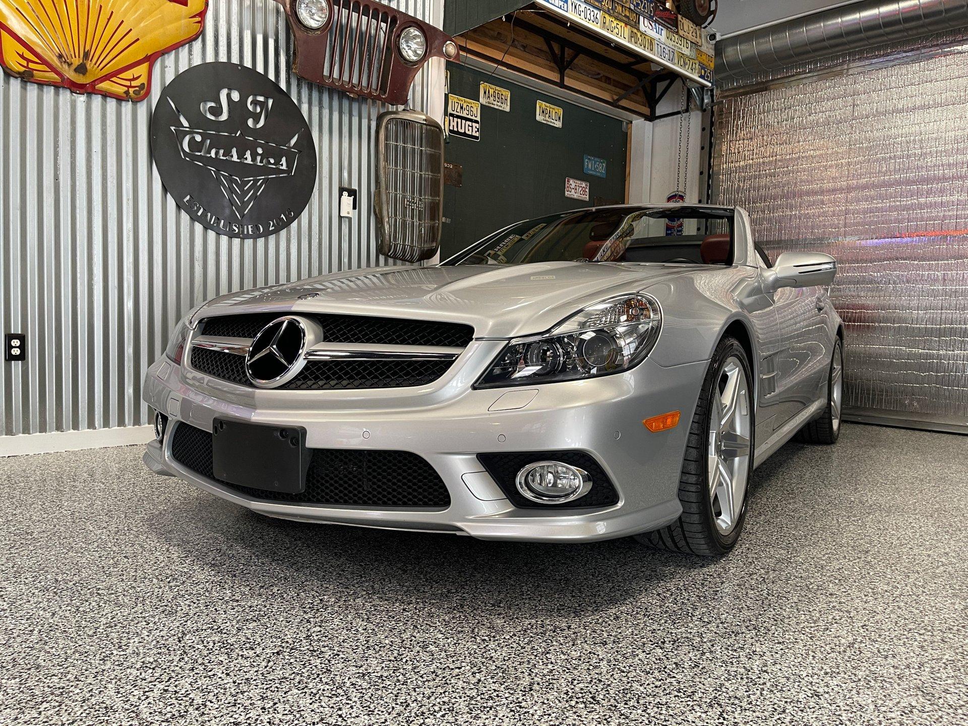 2009 Mercedes-Benz SL 550