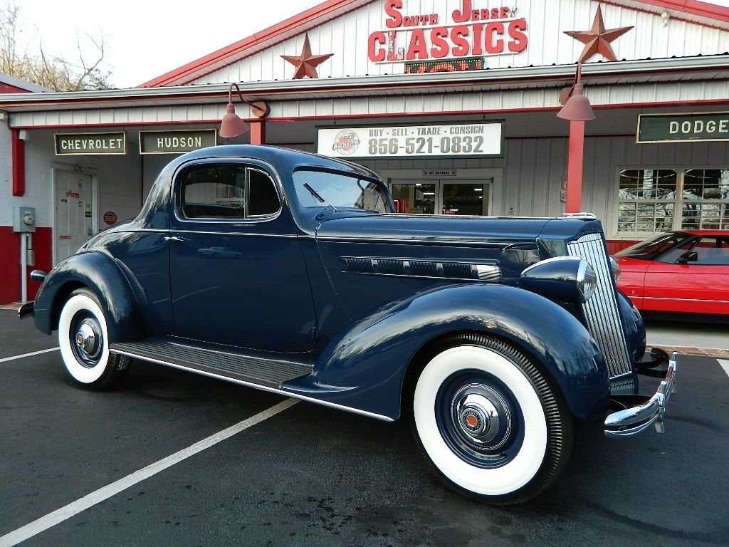 1936 ford business coupe humpback