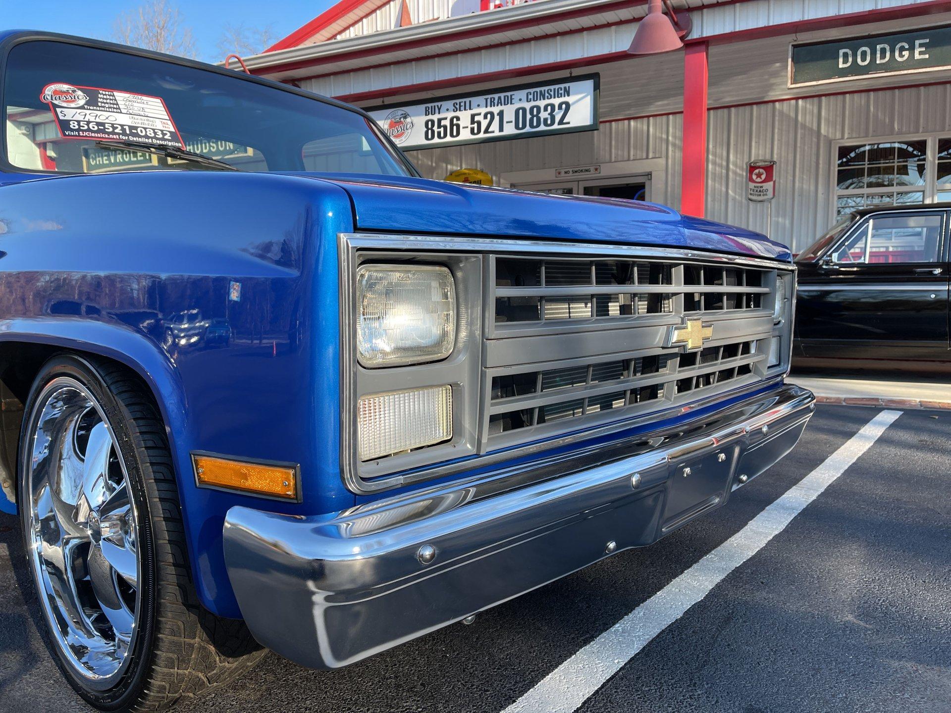 1986 Chevrolet C10