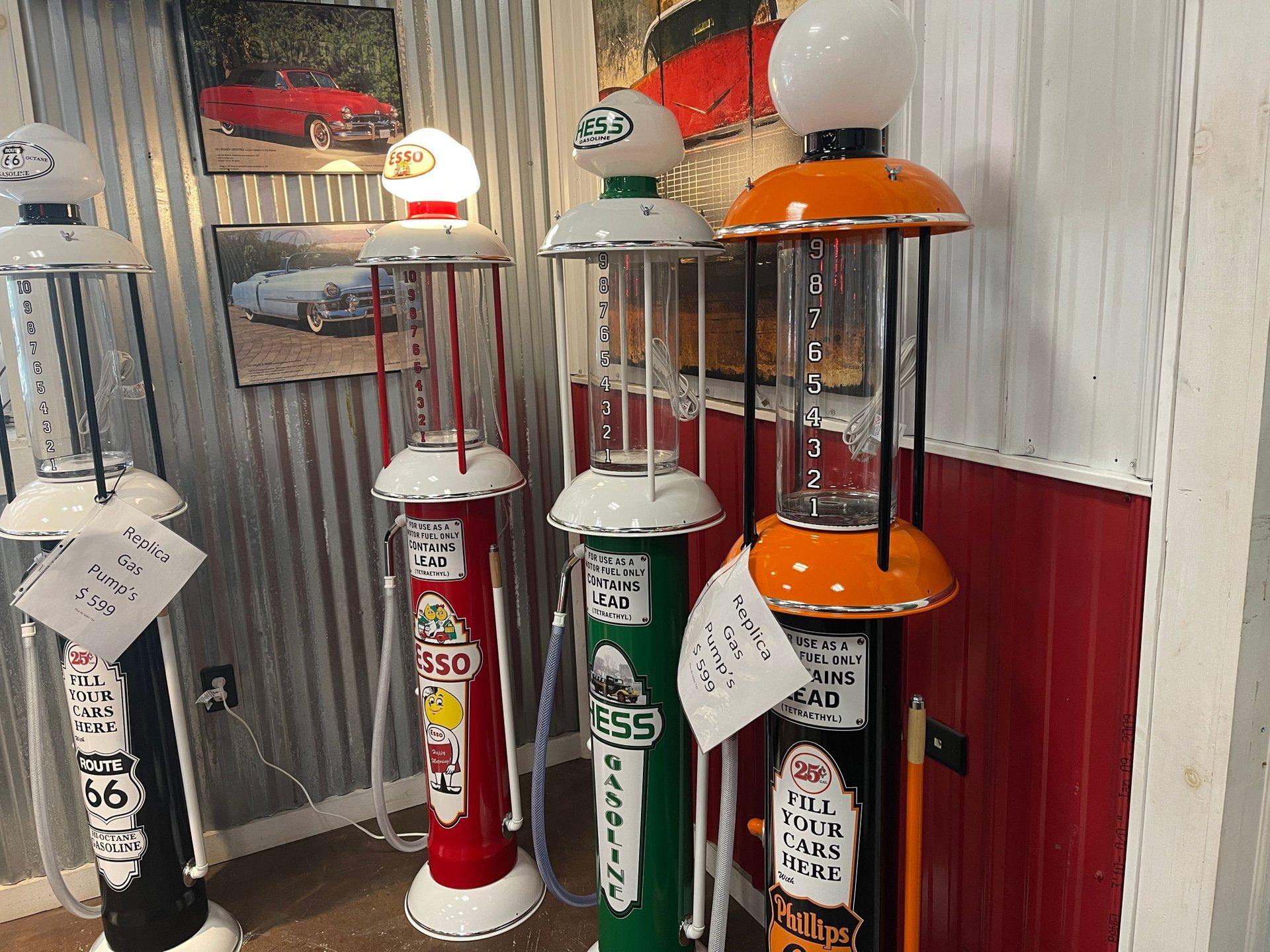 1930 Replica Gas Pumps