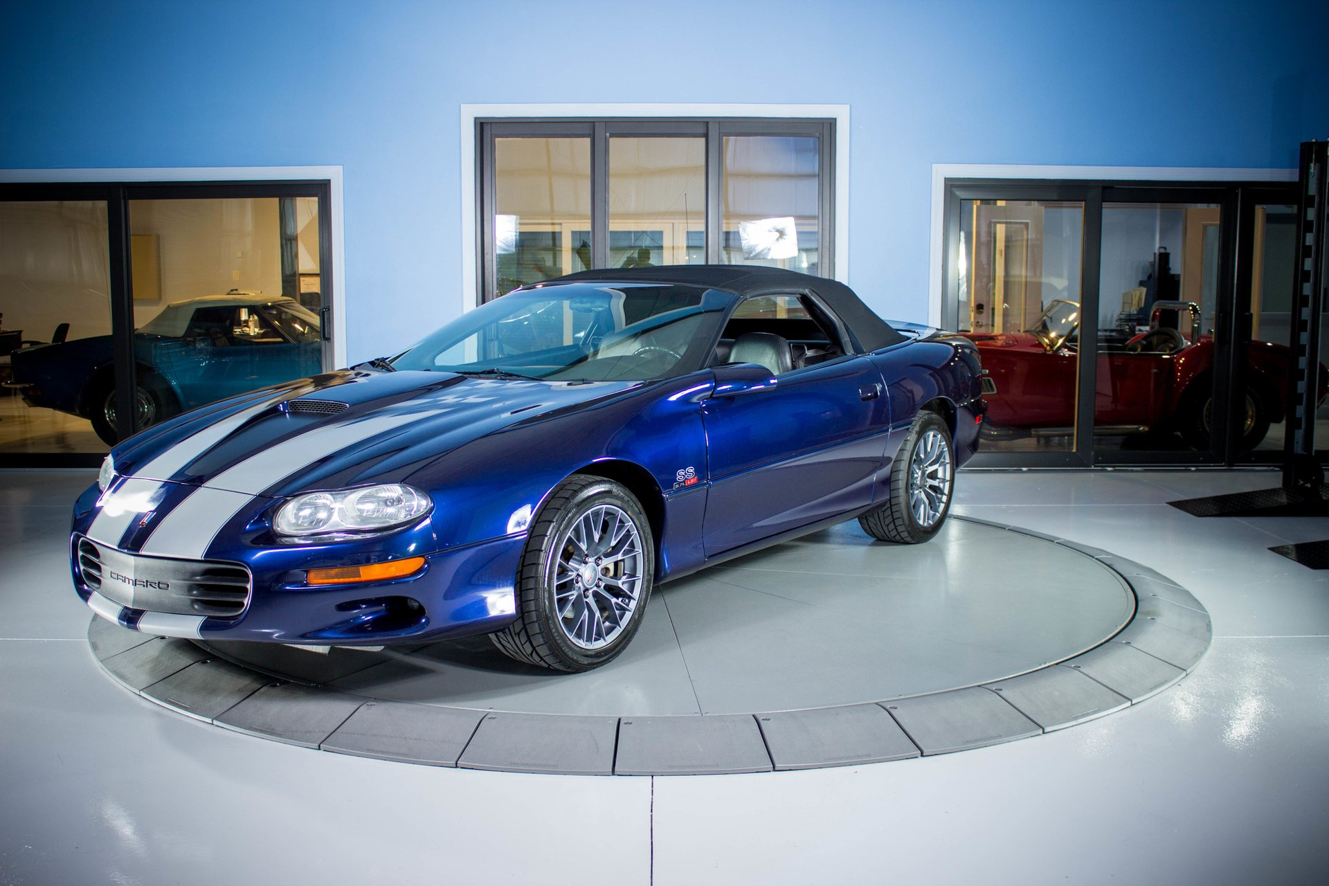 2002 chevrolet camaro ss slp 35th anniversary edition