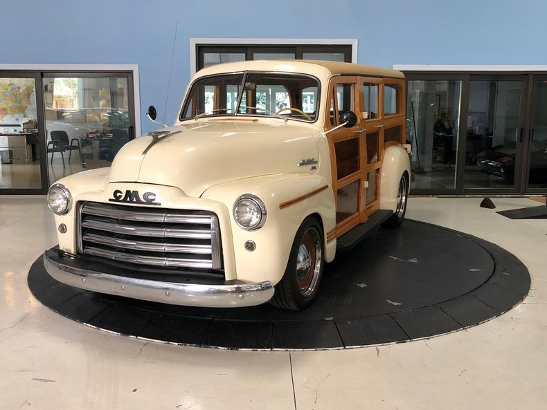 1951 GMC Woody