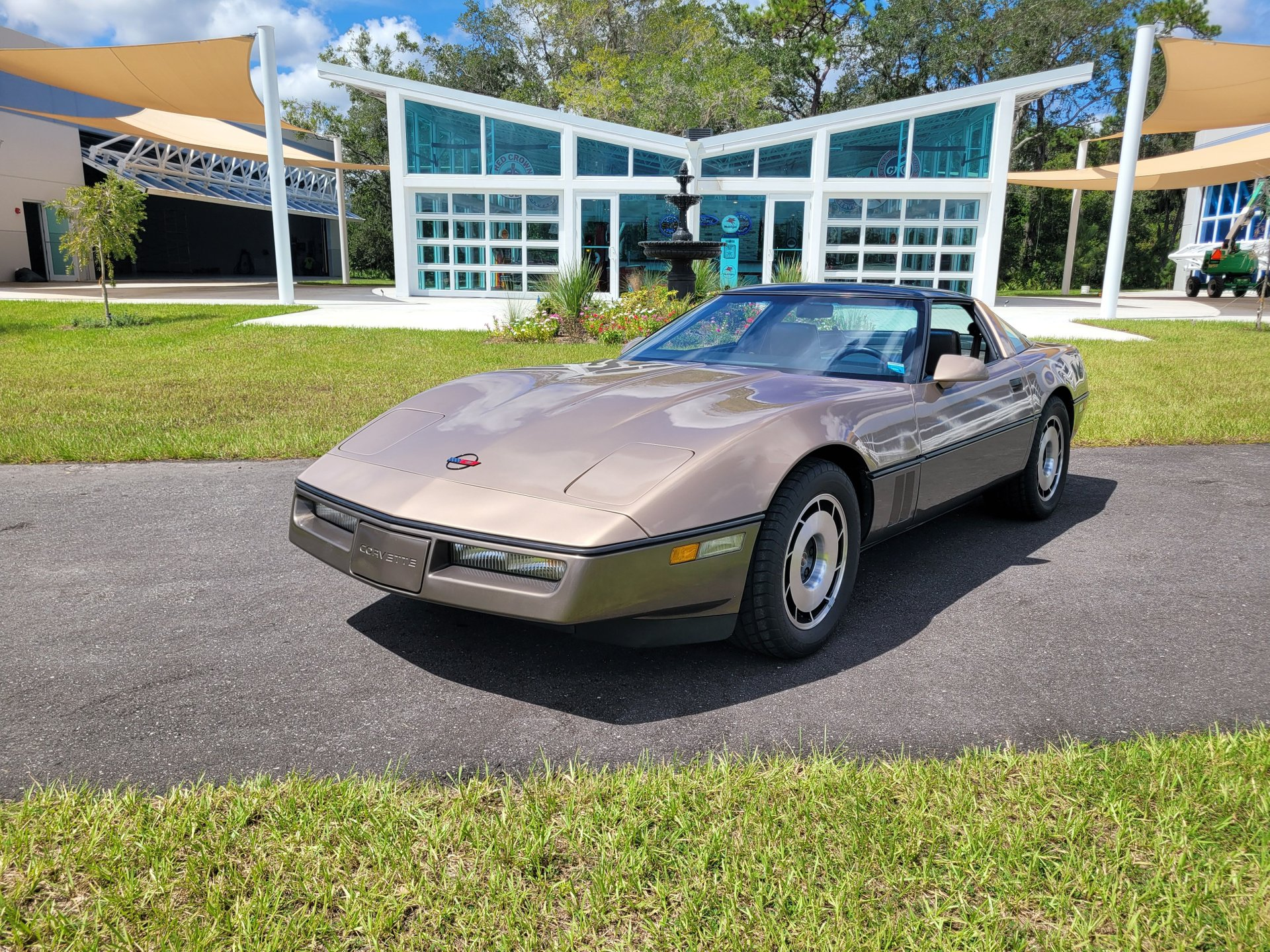 1984 chevy corvette one owner 7900 miles