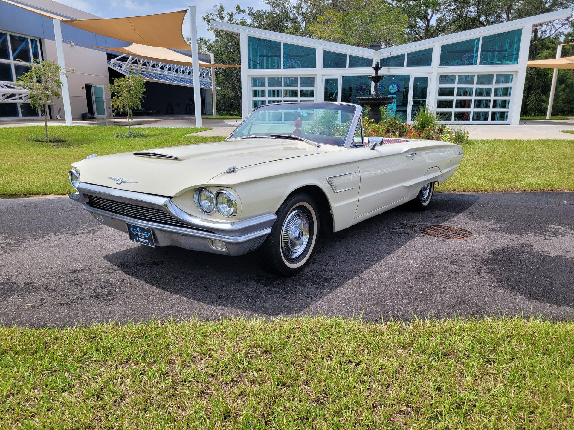 1965 ford thunder bird convertible