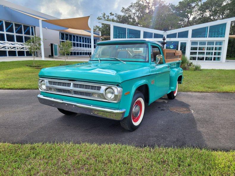 1970 Dodge 100 Pick up