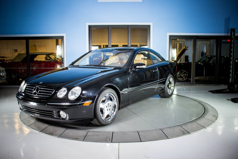 2001 Mercedes Benz CL-600