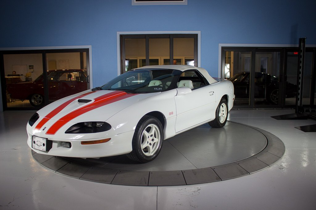 1997 chevrolet camaro ss 30th anniversary edition