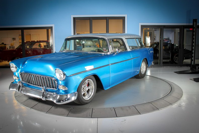 1955 Chevrolet Nomad For Sale