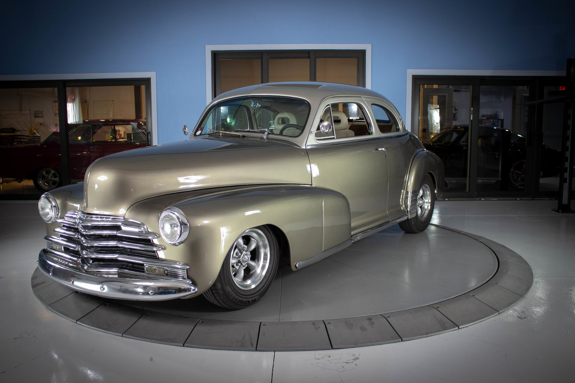 1948 chevrolet fleetmaster club coupe custom