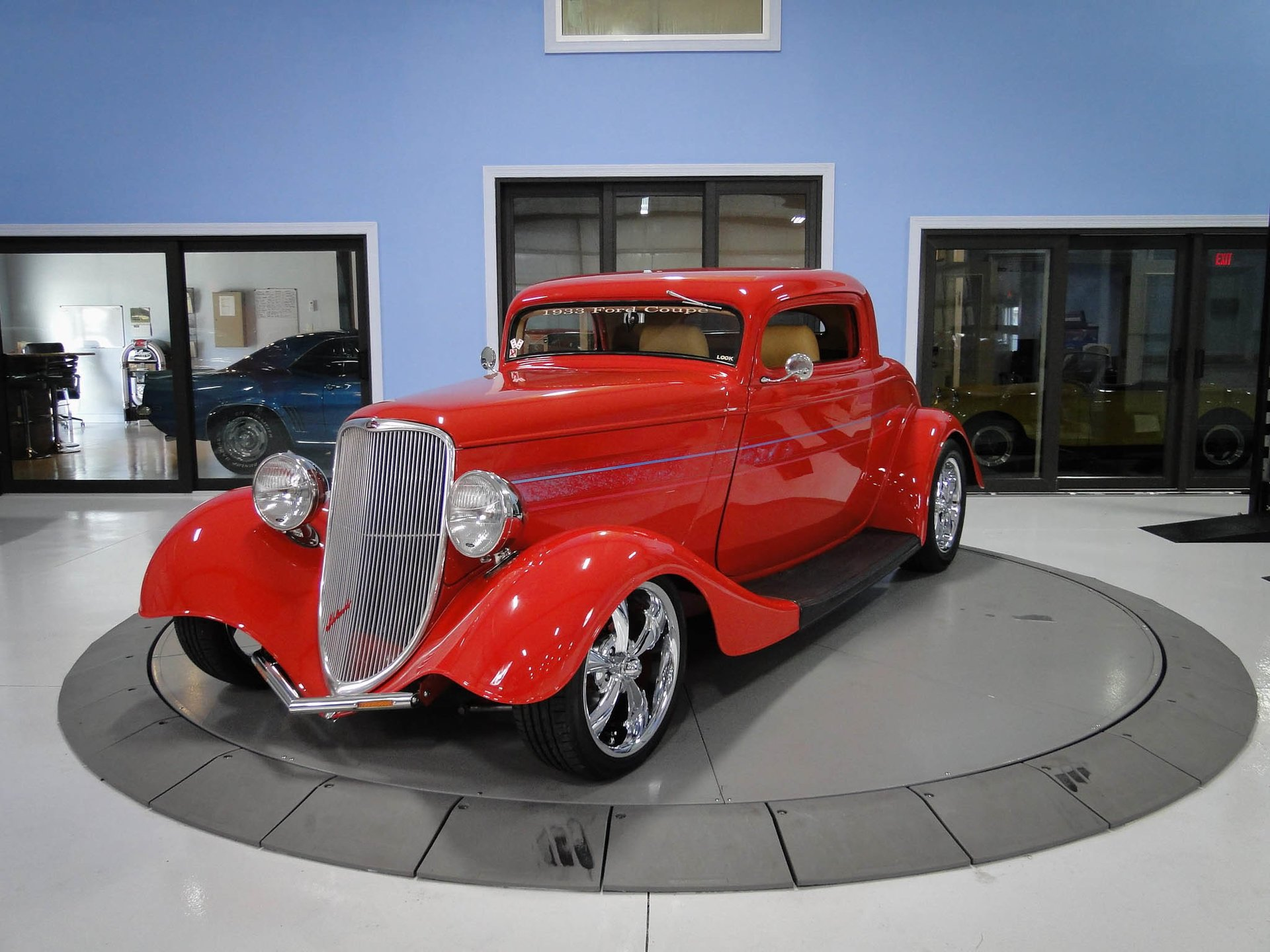 1933 ford 3 window coupe classic cars used cars for sale in tampa fl. Black Bedroom Furniture Sets. Home Design Ideas