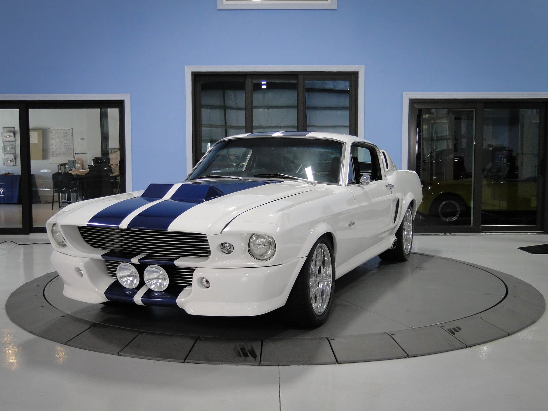1968 ford mustang shelby gt500e eleanor