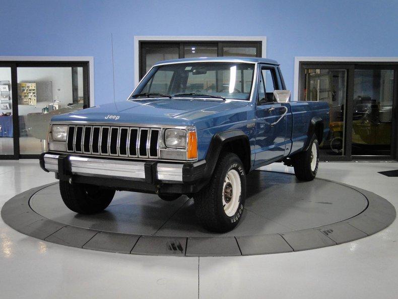 1986 Jeep Comanche X Pick Up