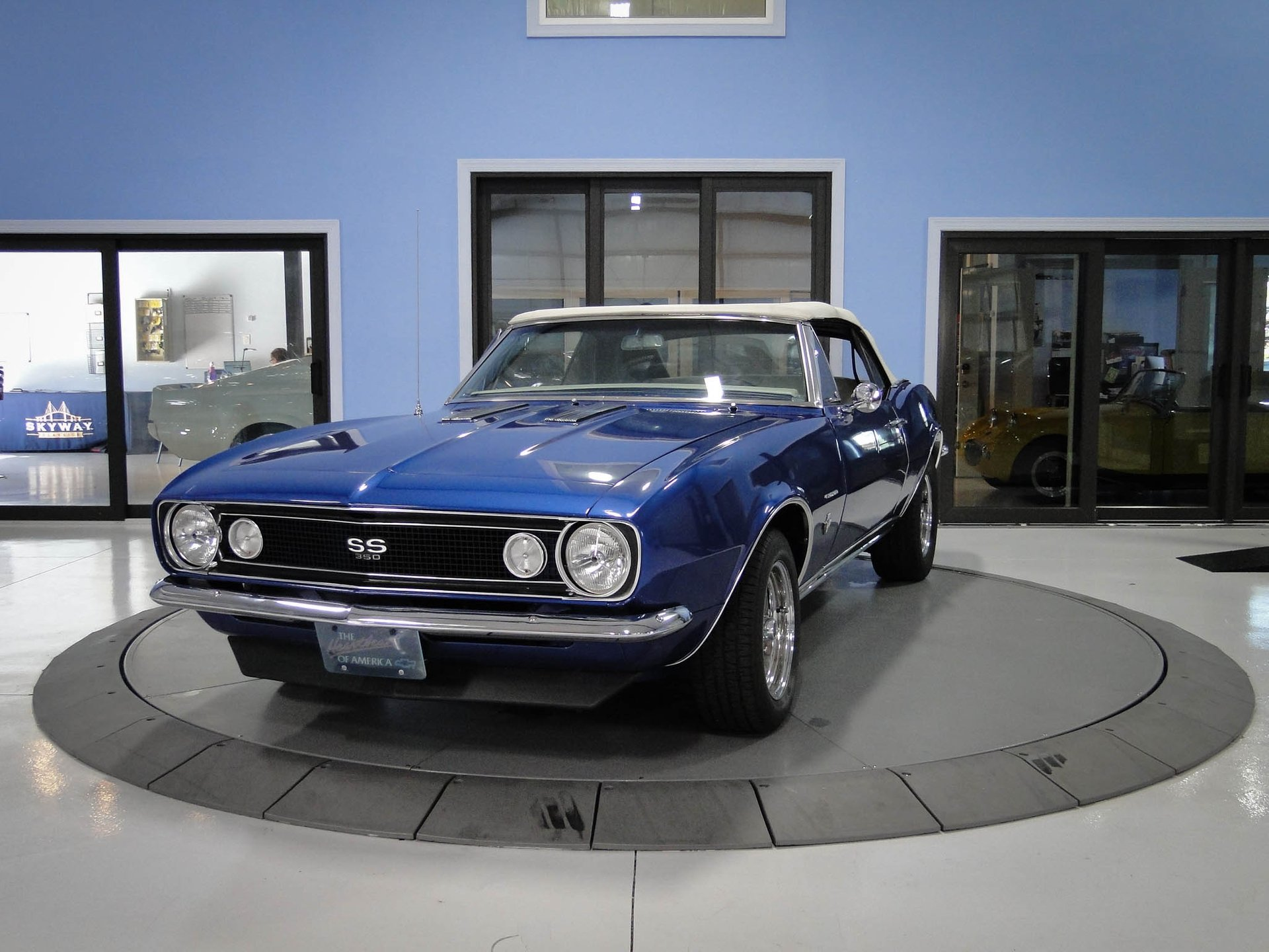 1967 chevrolet camaro ss tribute