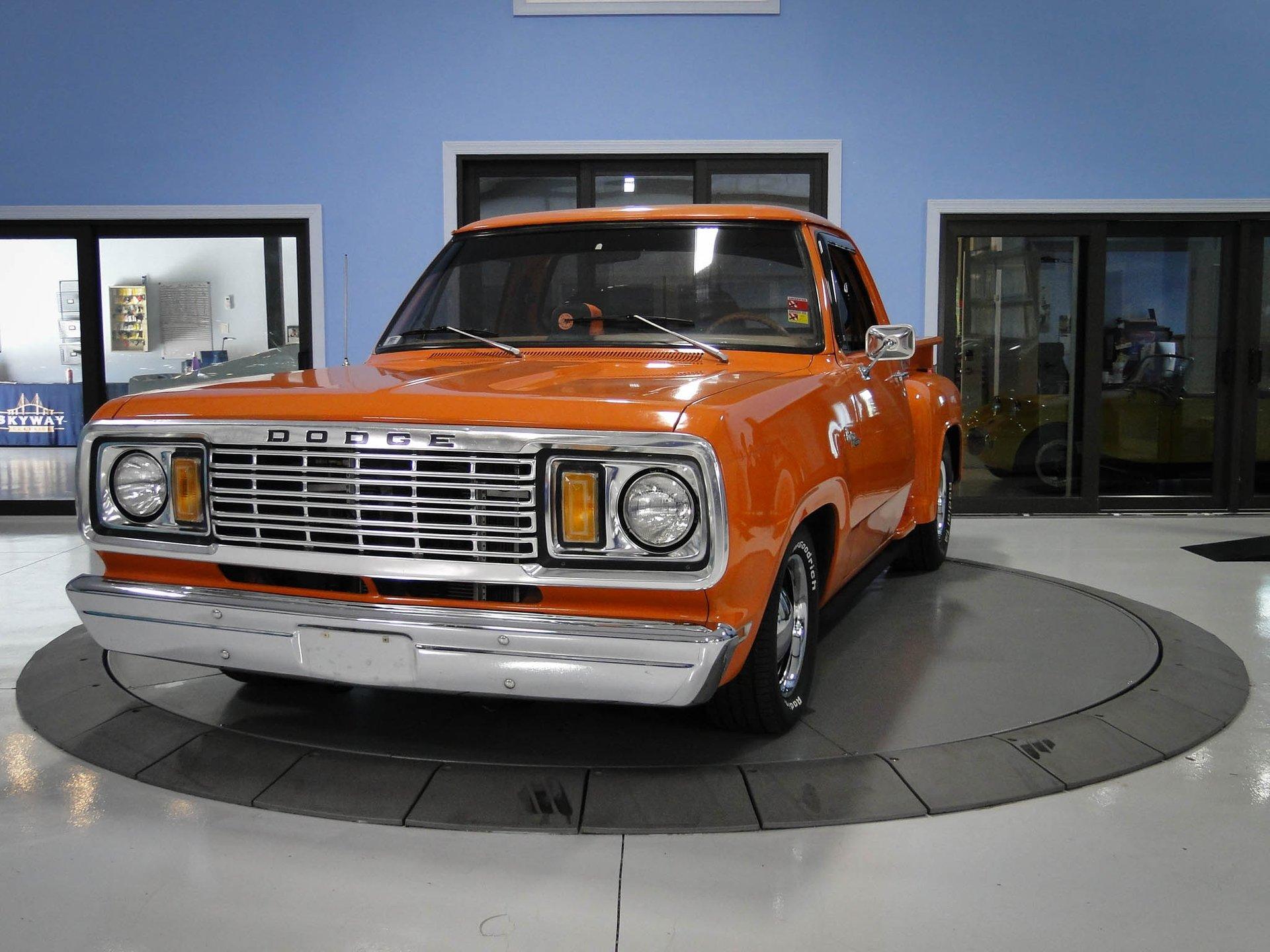1978 dodge d100 custom