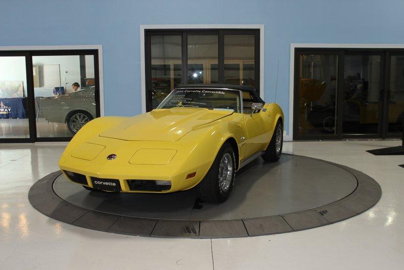 1974 Chevrolet Corvette Stingray Convertible For Sale