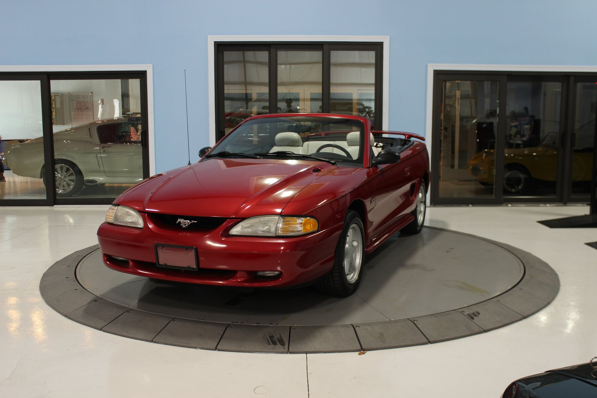 1995 ford mustang 2dr convertible gt