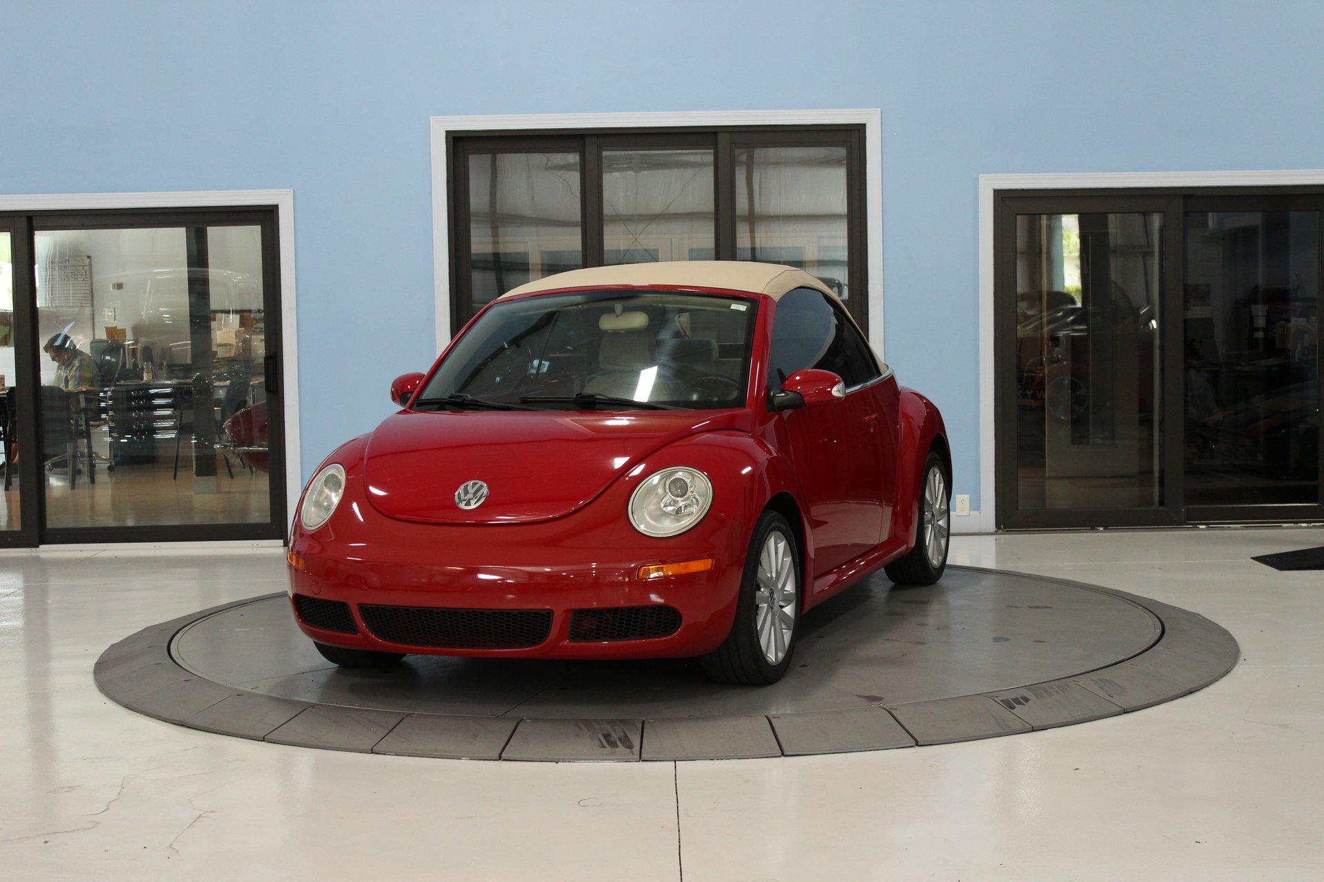 2008 volkswagen new beetle convertible 2dr auto se