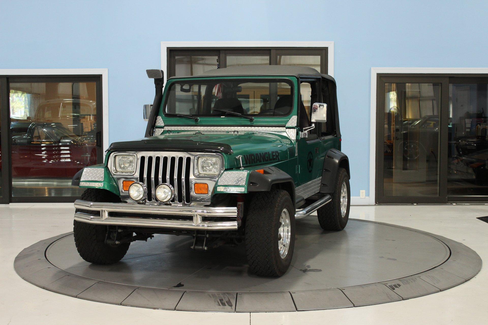 1994 jeep wrangler 2dr s