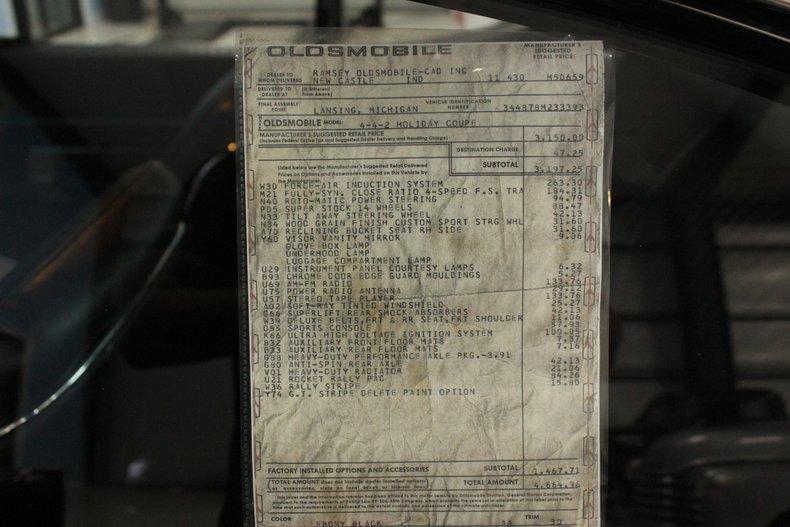 1968 Oldsmobile 442 W 30 for sale #124172 | MCG
