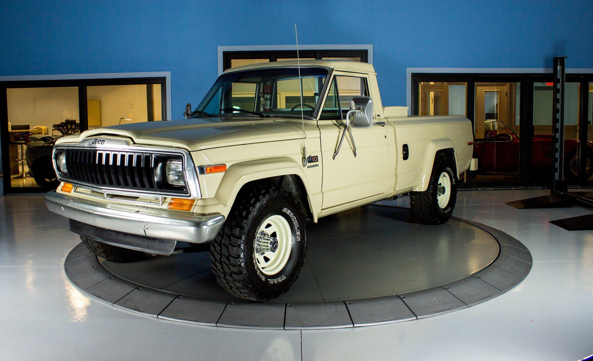 1984 jeep j series j 10
