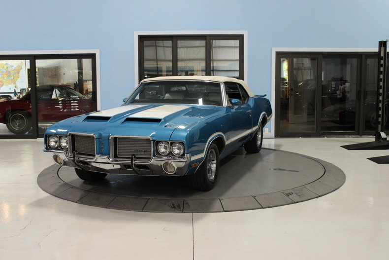 1971 Oldsmobile 442 Cutlass Convertible For Sale