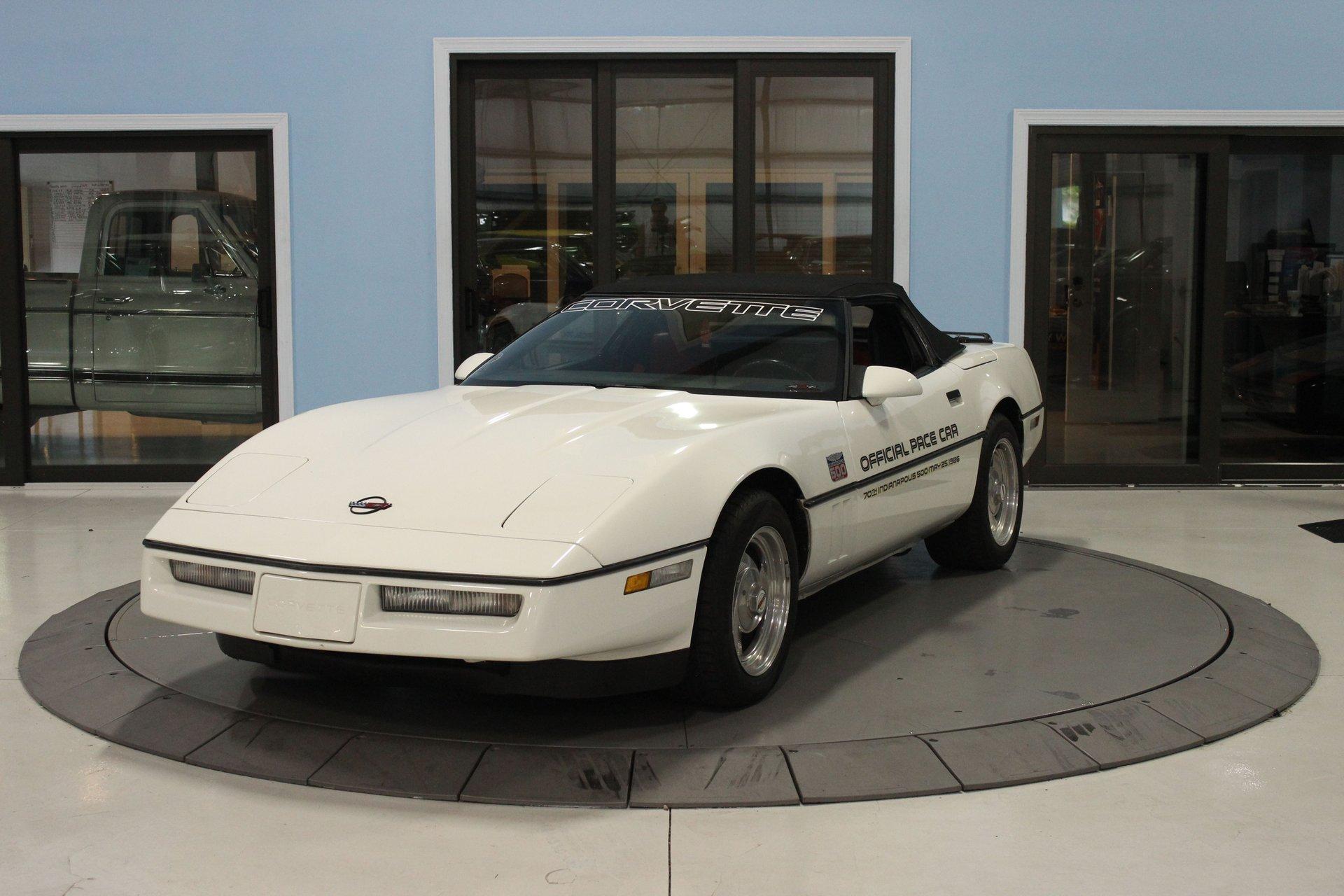 1986 chevrolet corvette indy 500 pace car